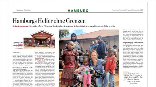 Hamburg's helpers without borders