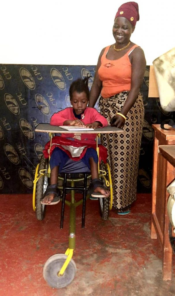 A new wheelchair for Patricia